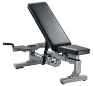 York Fitness Multi Function Bench Silver
